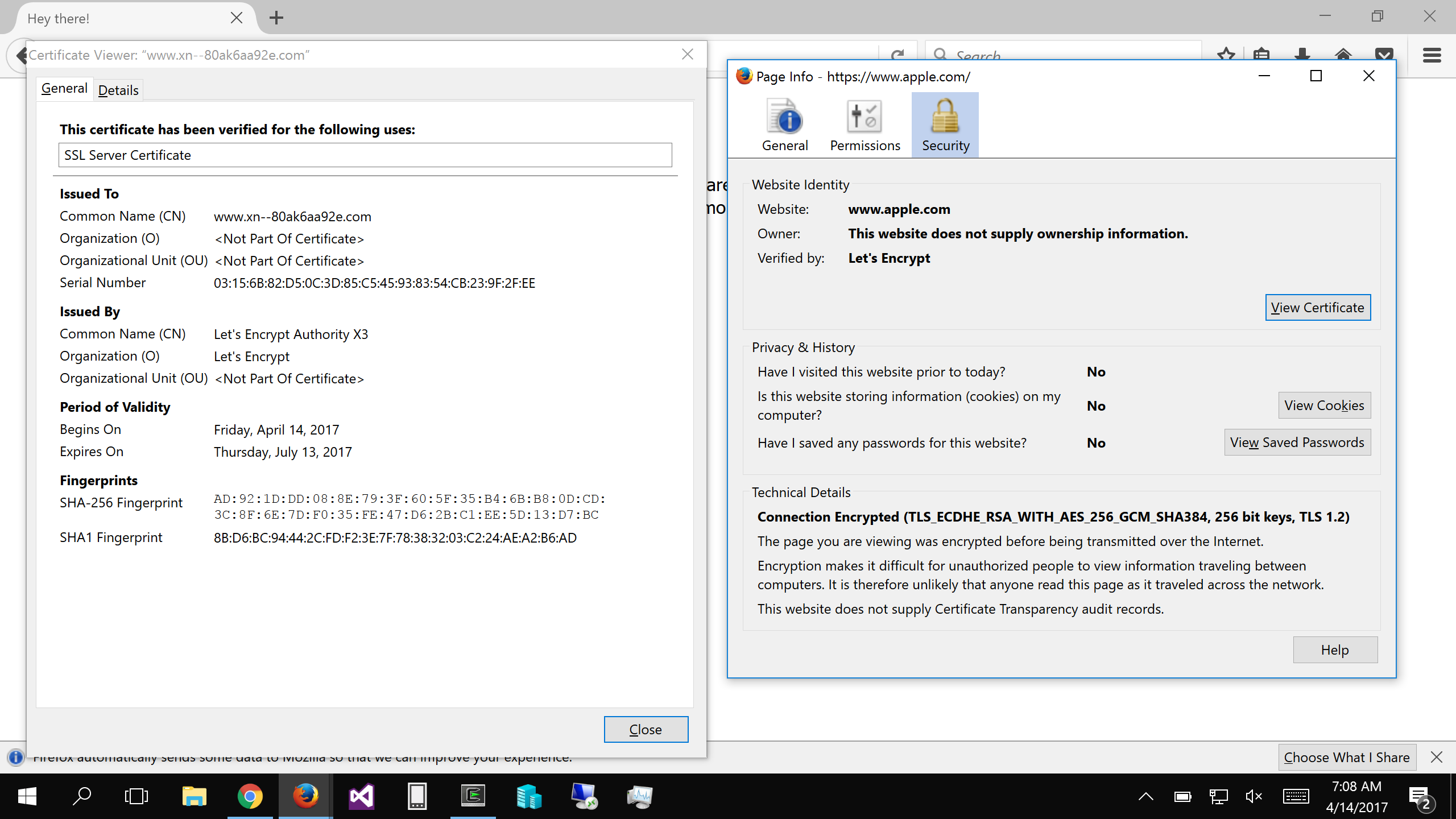 Phishing with Unicode Domains - Xudong Zheng